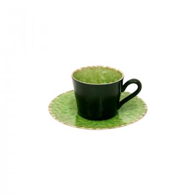 6 RIVIERA COFFEE CUPS & SAUCER - COSTA NOVA