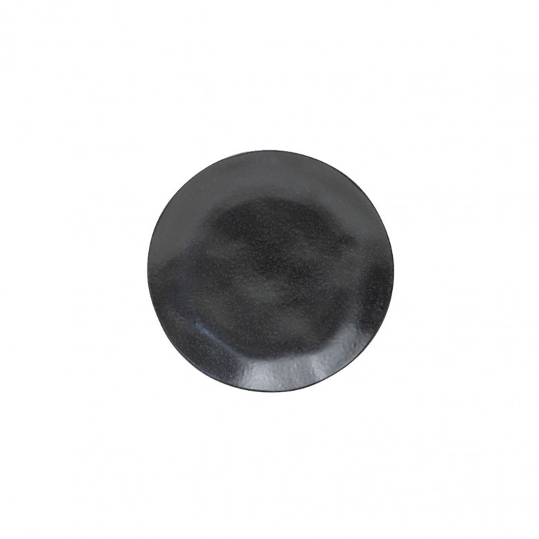 SET 6 RIVIERA SABLE NOIR SALAD PLATES - COSTA NOVA