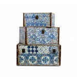 SET 3 BOXES TILES PATTERN L