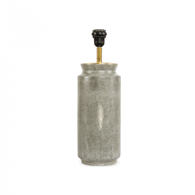 TABLE LAMP BASE GREY