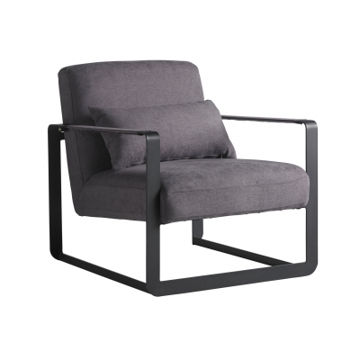 CUBE GREY ARMCHAIR