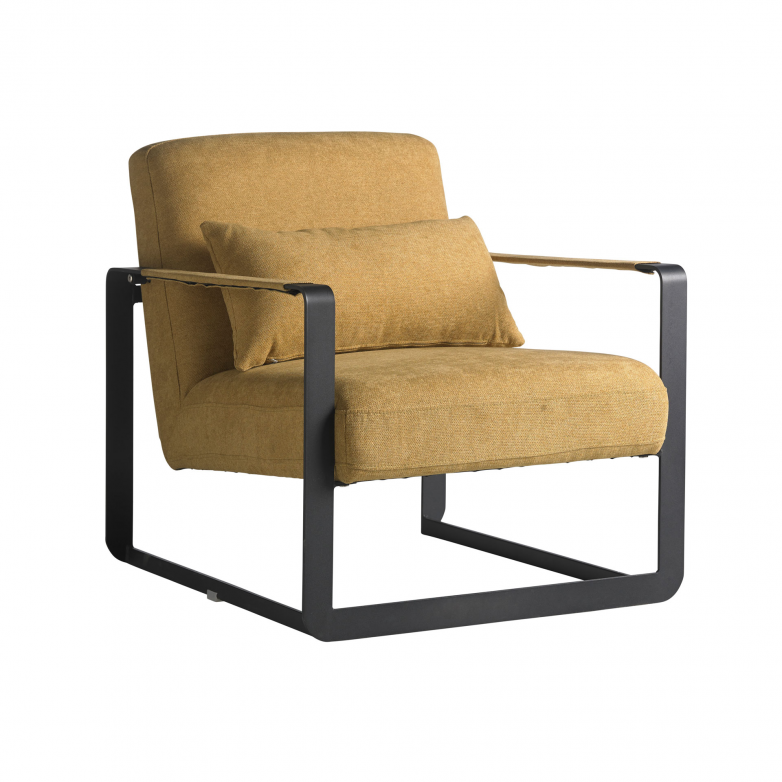 CUBE YELLOW ARMCHAIR