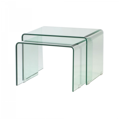 2 NIDO SIDE TABLES SET