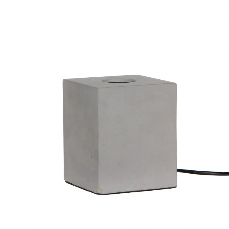 CEMENT TABLE LAMP I