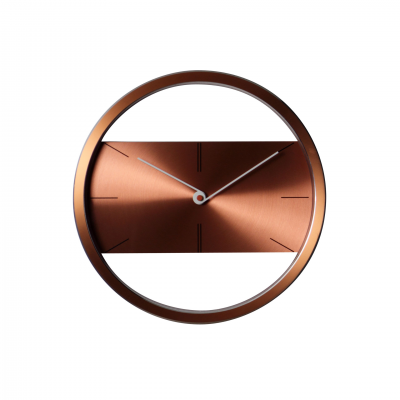 BELT MARRÓN WALL CLOCK