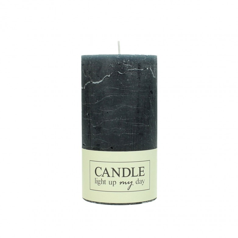 SET OF 8 GREY CANDLES 13