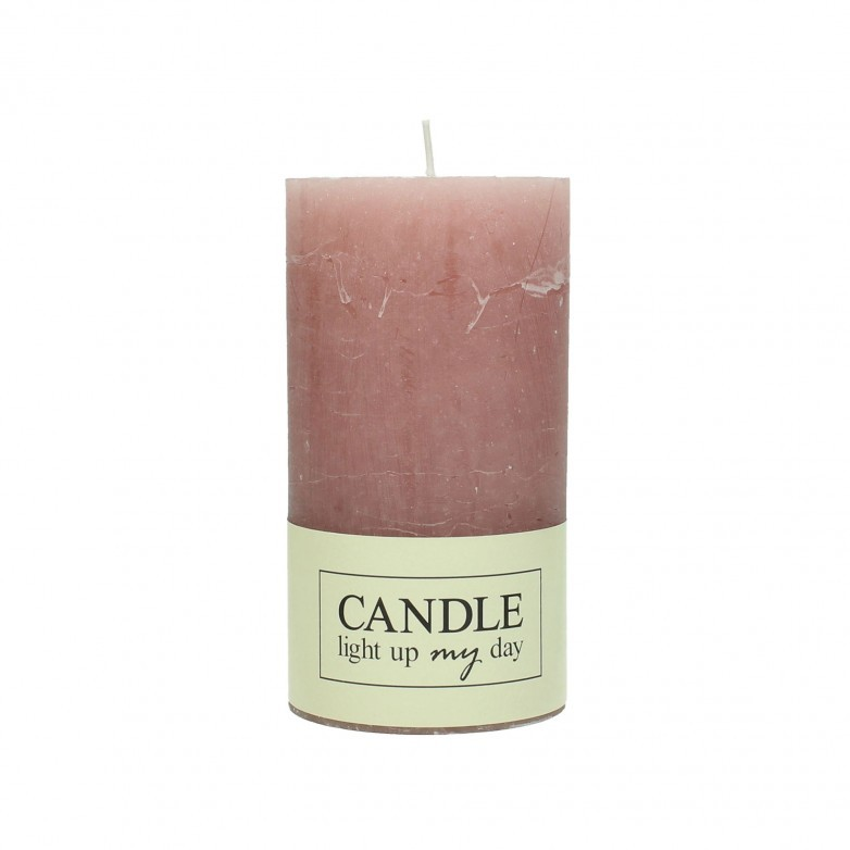 SET OF 8 PINK CANDLES 13