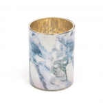 MARBLE EFFECT CANDLE HOLDER