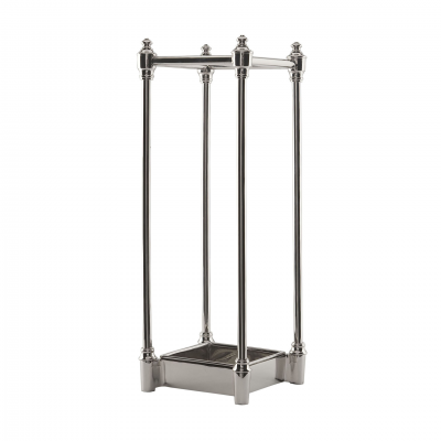 UMBRELLA STAND NICKEL FINISH