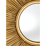 MIRROR SOLARIS GOLD FINISH L