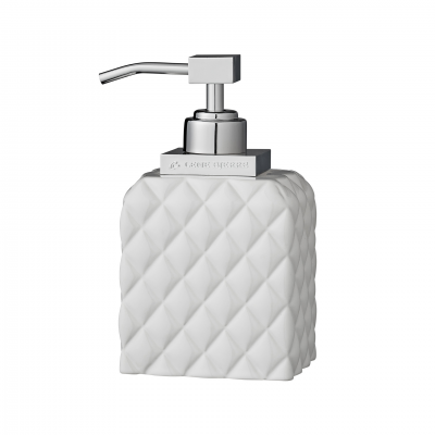 PORTIA CERAMIC DISPENSER WITH RELIEF