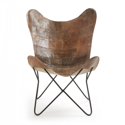 CALIFORNIA LEATHER ARMCHAIR