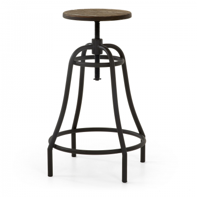 BROOKLYN BLACK BAR STOOL