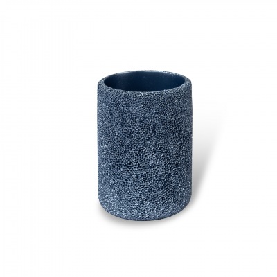 TOOTHBRUSH HOLDER CORAL EFFECT BLUE