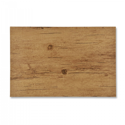 SET OF 4 NATURAL WOOD EFFECT PVC PLACEMATS