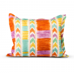 FLANGED CUSHION ABSTRACT PATTERN