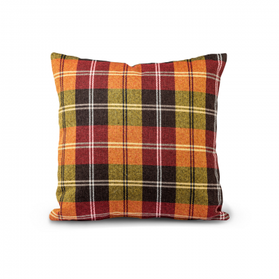 MULTICOLOR CHESS PATTERN CUSHION