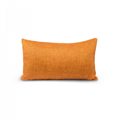 YELLOW/ORANGE MIXED FABRIC CUSHION