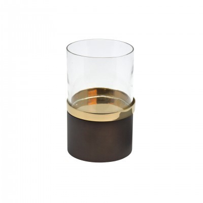 GOLD CANDLE HOLDER S