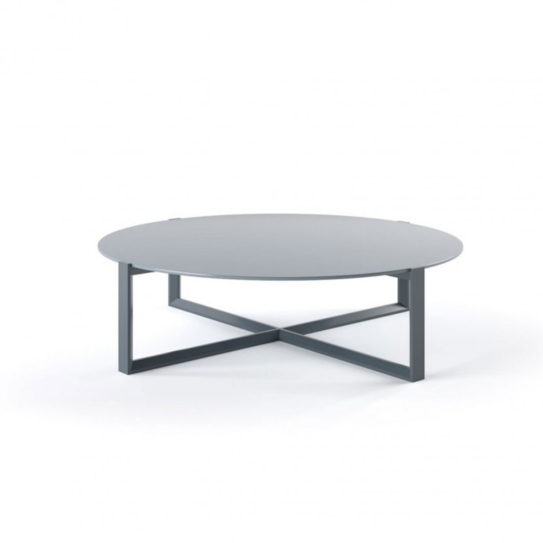 CROSSED CENTER TABLE