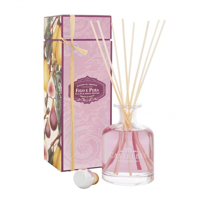 3 FLORAL TOILE PORTUS CALE DIFFUSERS 250mL