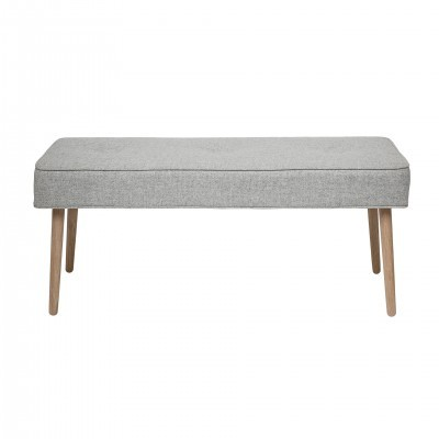 BANQUETA BUTTON GREY