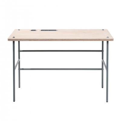 50171421 Study Desk , Grey, MDF