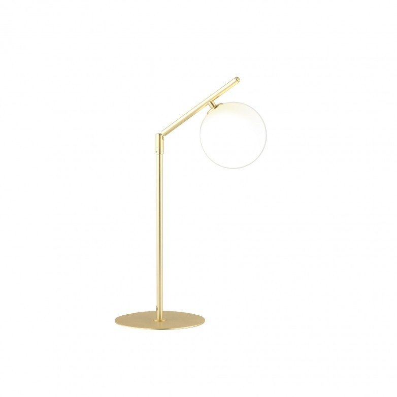 METAL TABLE LAMP IN GOLD METAL FINISH