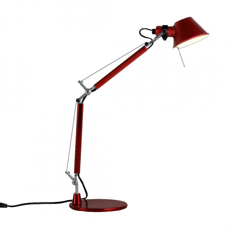 TOLOMEO MICRO TABLE LAMP RED - ARTEMIDE
