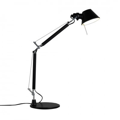 TOLOMEO MICRO TABLE LAMP BLACK - ARTEMIDE