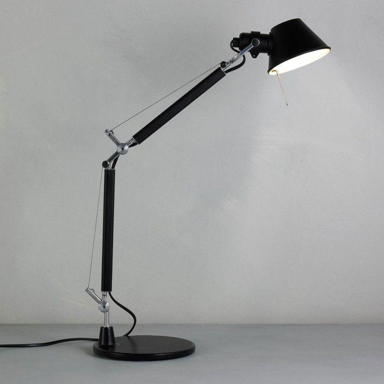 TOLOMEO MICRO TABLE LAMP BLACK - ARTEMIDE