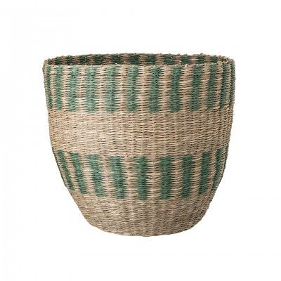 SET OF 2 MULTICOLOR BASKETS II