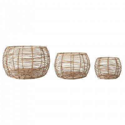 SET 3 NATURE BASKETS