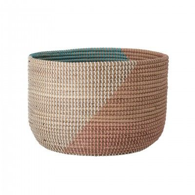 SET OF 2 MULTICOLOR BASKETS III