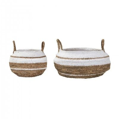 SET OF 2 NATURE BASKETS