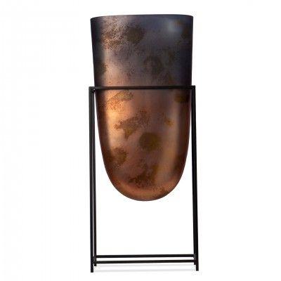 DECORATIVE GLASS VASE III