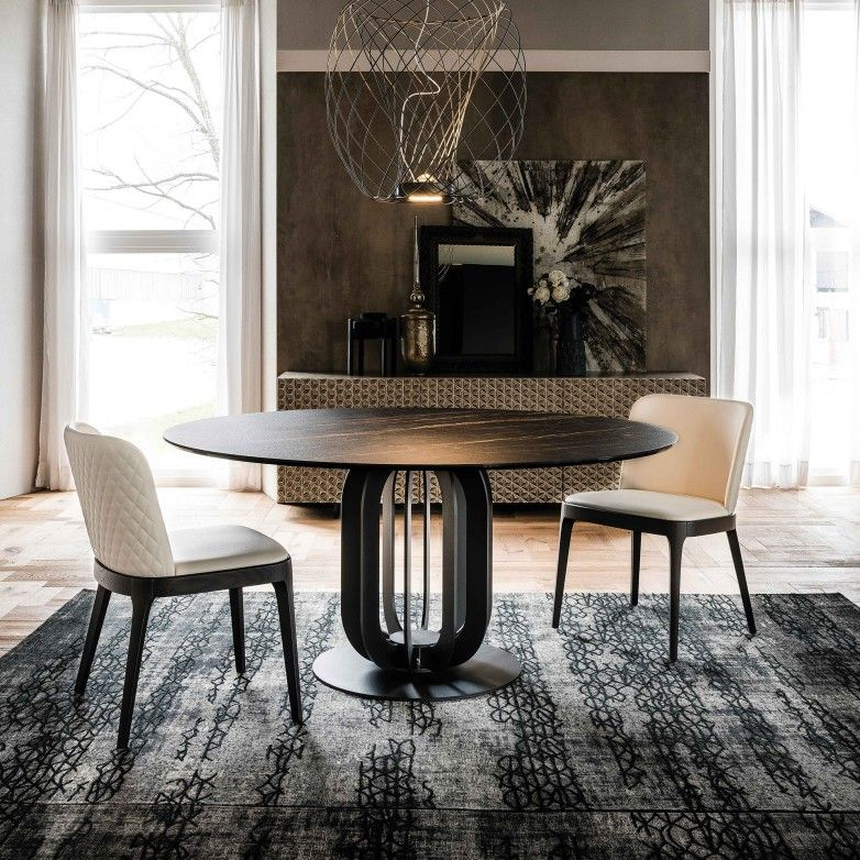 SOHO KERAMIK DINING TABLE - CATTELAN