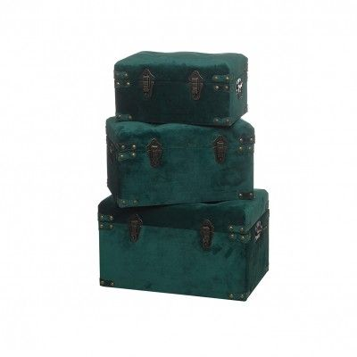 SET 3 GREEN CHESTS