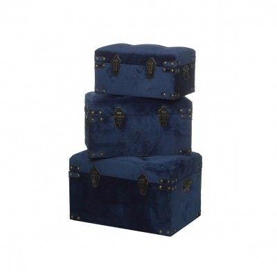 SET 3 BLUE CHESTS