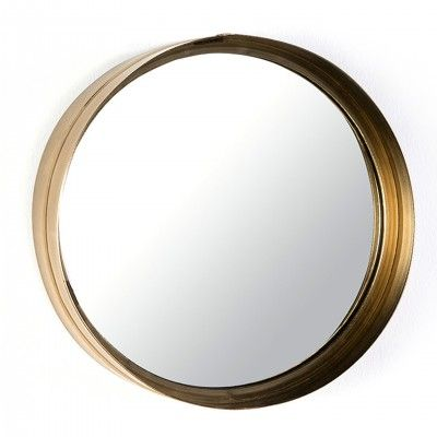 GOLDEN CIRCLE MIRROR L