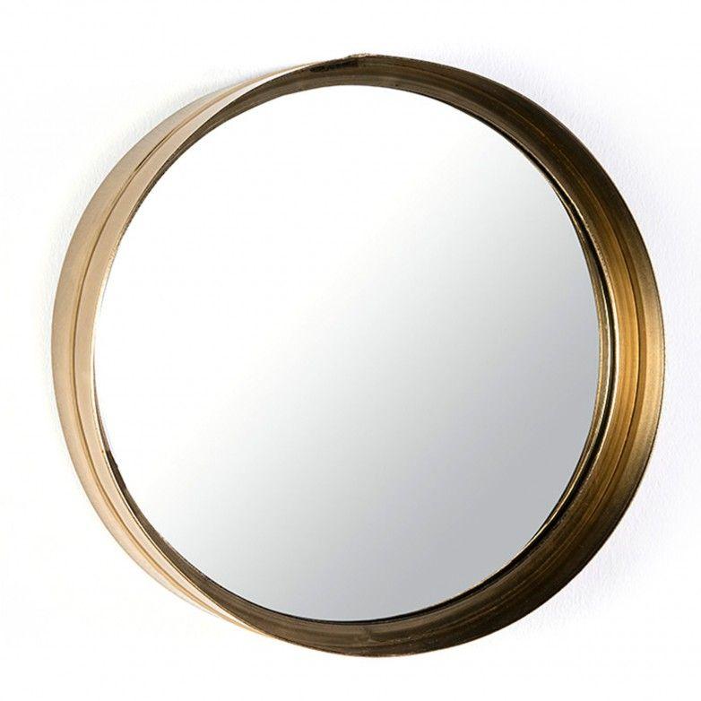 ESPELHO GOLDEN CIRCLE L
