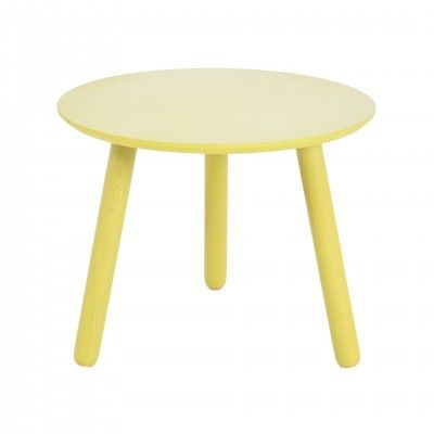 YELLOW SIDE TABLE