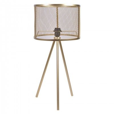 METALLIC TABLE LAMP