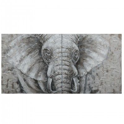 HORIZONTAL ELEPHANT PAINTING