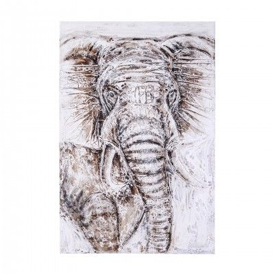 ELEPHANT VERTICAL PAINTING