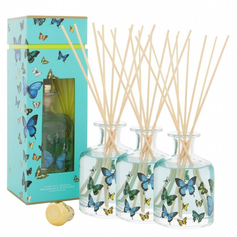 3 BUTTERFLIES PORTUS CALE DIFFUSERS 250mL