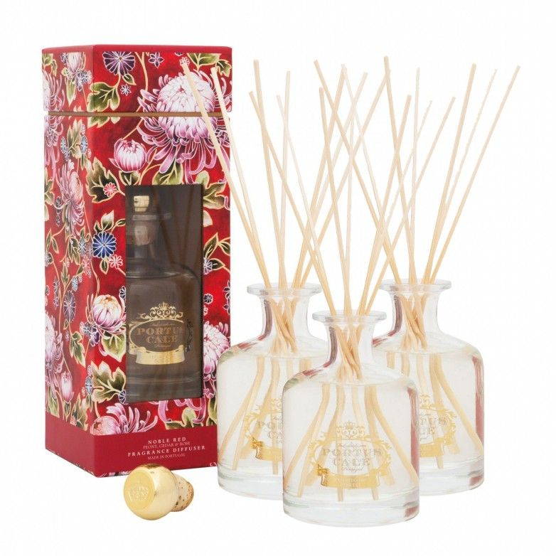 3 NOBLE RED CALE DIFFUSERS 250mL