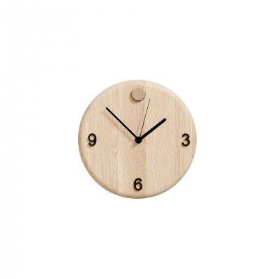 WOOD TIME CLOCK