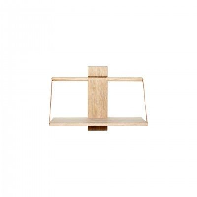 WOOD WALL OAK SHELF M