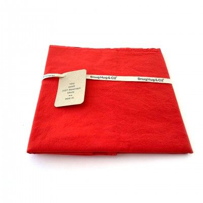 CLOUDS RED 50 PILLOWCASE